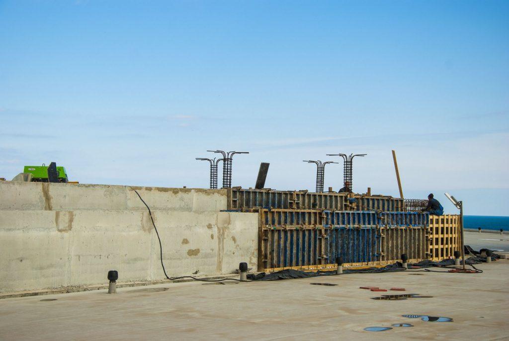 Строительство бассейна нашего комплекса