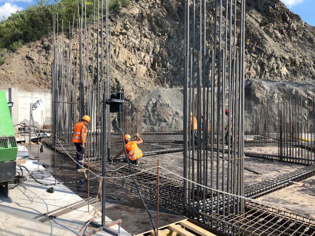 Ход строительства -2 этажа комплекса Аю-Даг