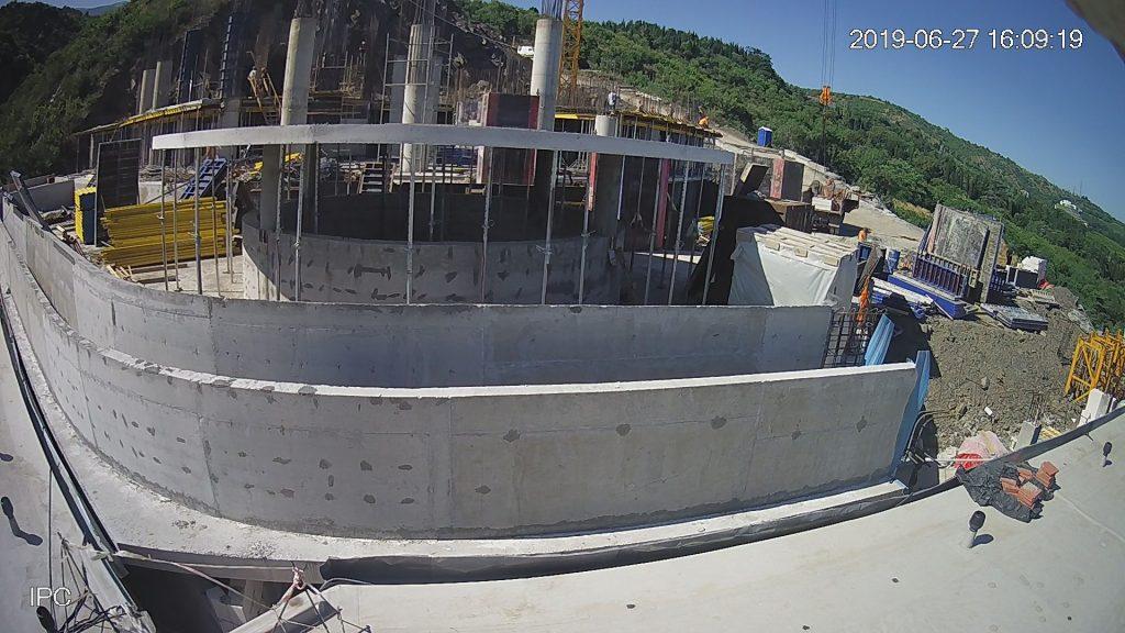 Строительство верхнего комплекса